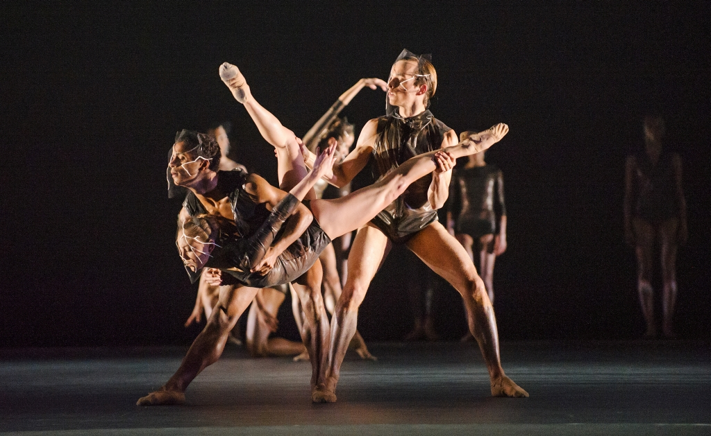 A scene from Woolf Works a World Premiere by The Royal Ballet @ Royal Opera House. Choreography by Wayne McGregor.  (Opening 11-05-15) ©Tristram Kenton 05/15 (3 Raveley Street, LONDON NW5 2HX TEL 0207 267 5550  Mob 07973 617 355)email: tristram@tristramkenton.com