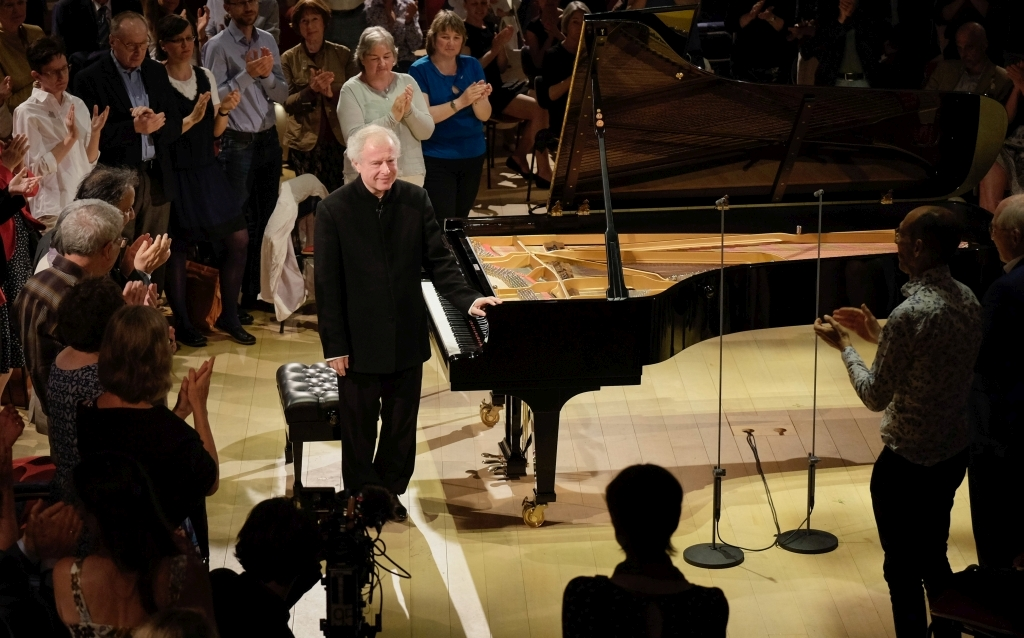 Sir Andras Schiff mit den Goldberg Variationen im Pierre Boulez Saal