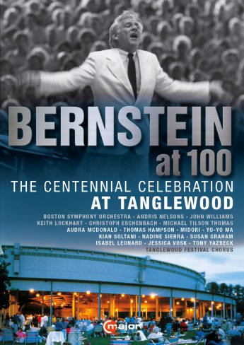 CMajor 747608_Bernstein at 100_Tanglewood_DVD_FrontCover
