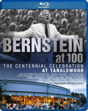 CMajor 747704_Bernstein at 100_Tanglewood_BD_FrontCover